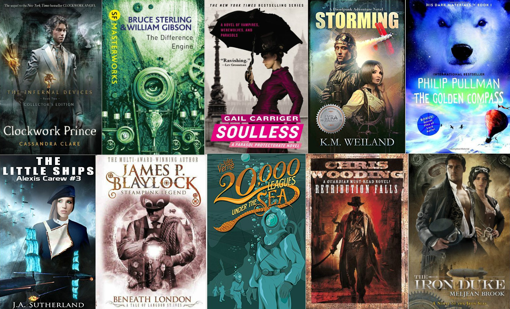 16 Steampunk Books You Have To Read