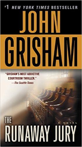 the runaway jury by john grisham essay Runaway jury reviewed by john gibbon if hollywood was put on trial for mishandling film adaptations of the best selling legal thrillers of john grisham, the trial could open with an opening argument that stephen king and john grisham tend to share a common bond.