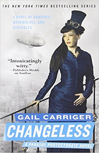 The Best Steampunk Novels | Changeless by Gail Carriger