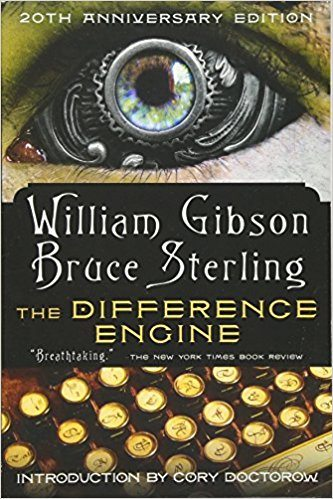 Best Steampunk Books | The Difference Engine by William Gibson & Bruce Sterling